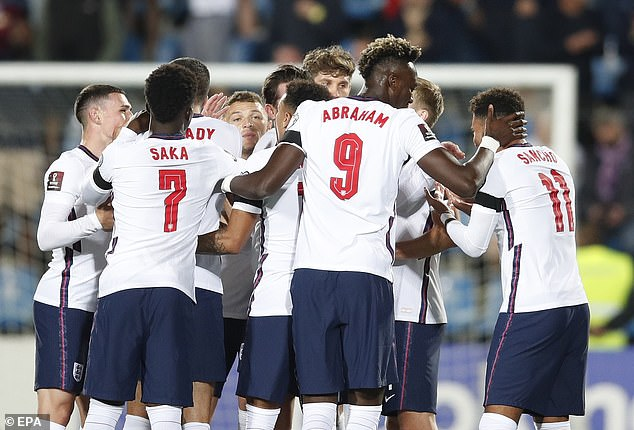 England moved a step closer to World Cup qualification after thrashing Andorra on Saturday