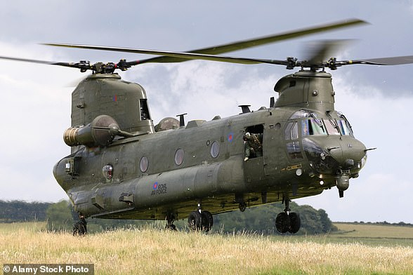 Base: Chinook Helicopters at RAF Oddham in Hampshire