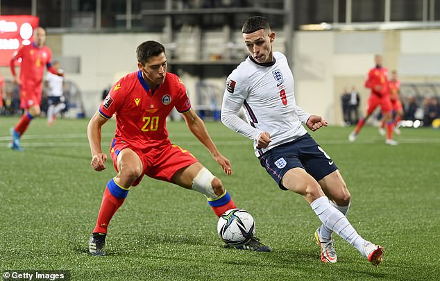 Phil Foden dazzled for England in a new role as the Three Lions drubbed Andorra 5-0