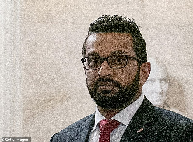 Committee Chairman Bennie Thompson and Vice Chair Liz Cheney said that Kash Patel (pictured), a former Trump aide, is 'so far engaging' with the inquiry according to a statement