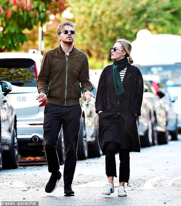 Irish-American actress Saoirse Ronan winner of the prestige Golden Globe and Critics' Choice Awards is spotted out with the Scottish Actor and boyfriend Jack Lowden in London