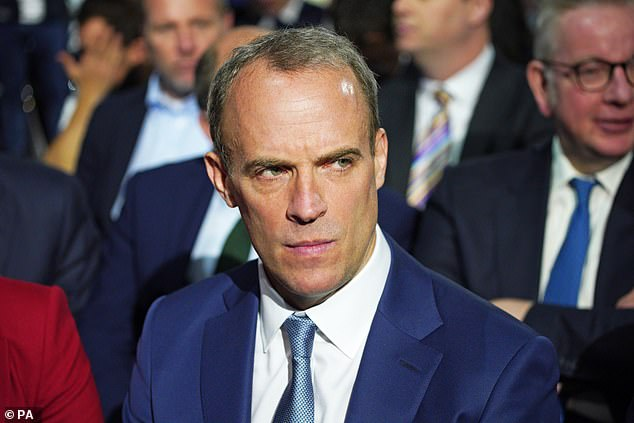 The then Foreign Secretary Dominic Raab faced heavy criticism for refusing to cut short his holiday to Crete during the crisis and was reshuffled out of the department weeks later