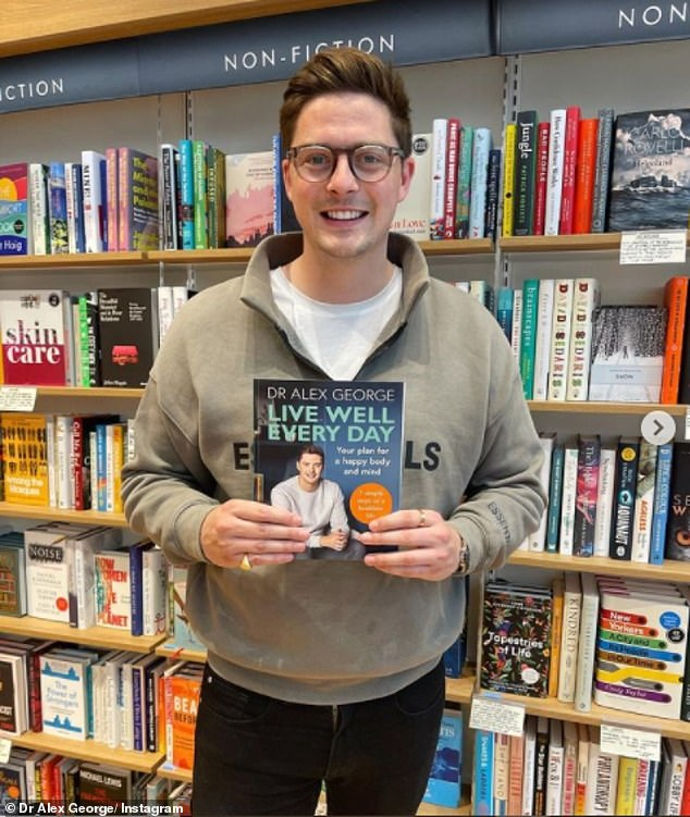 Making Changes: The Welshman describes his best-selling book, Live Well Every Day, as a 'combination' of things he wished he knew
