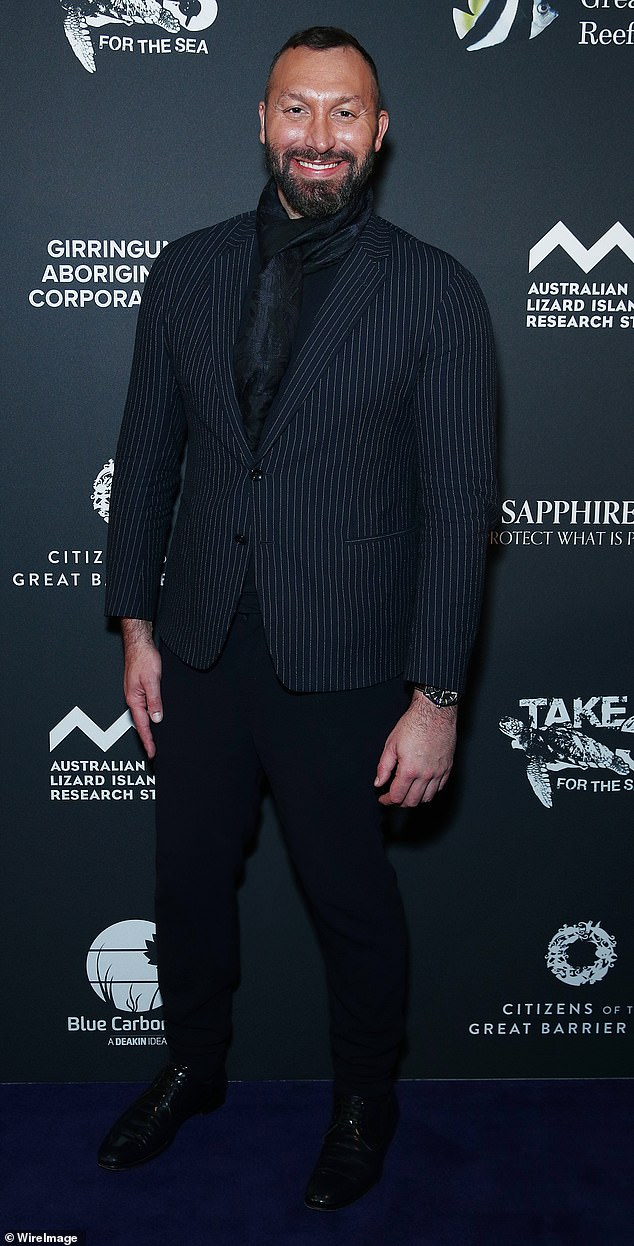 Praise: Olympic legend Ian Thorpe, 38, (pictured) has praised tennis star Naomi Osaka for drawing bringing attention to the issue of mental health