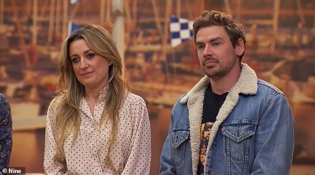 Sad:Cameras on the Channel 9 renovation show captured the moment the 34-year-old country singer learned her beloved grandmother had passed away