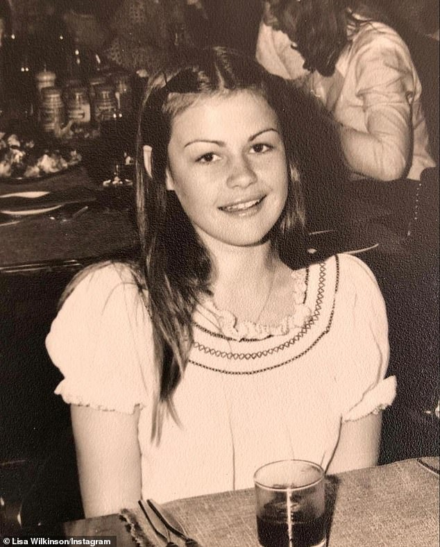 'I just chose to never speak about it, to never do anything about it, and I've only very recently told my girlfriend what happened,' Lisa said. Pictured as a teenager