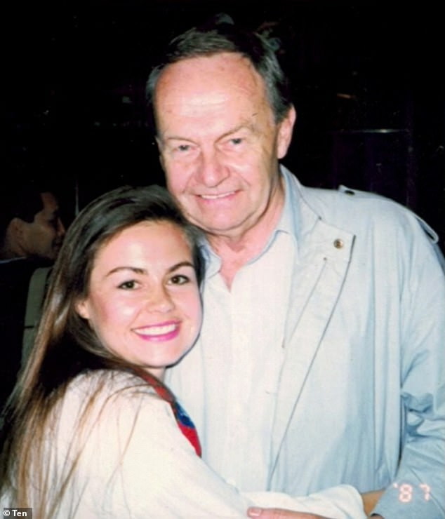Lisa detailed: 'My friend's father arrived at the door just after me. And with the same hand that had just been on my body, he reached out and shook the hand of my father'. Lisa is pictured with her father Raymond