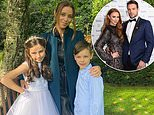 Una Healy and ex-husband Ben Foden celebrate daughter Aoife making her First Holy Communion
