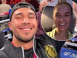 Molly-Mae Hague beams as Tommy Fury calls after Tyson's Deontay Wilder fight win