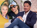 Peter Andre poses with eldest child Princess, 14, as he praises her 'natural beauty'