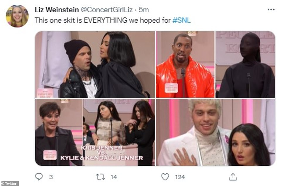 , Kim Kardashian's SNL hosting gig is a SUCCESS as fans express shock over her kiss with Pete Davidson, The Habari News New York