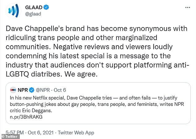 , Family of trans comedian defends Dave Chappelle over his 'transphobic' comments of the community, The Today News USA
