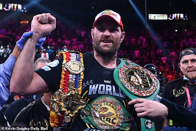 Fury is not an angel and has been influenced by many controversial moments in his career