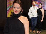 Benedict Cumberbatch andClaire Foy attend advanced screening of The Electrical Life Of Louis Wain