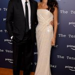 George Clooney cosies up to his wife Amal at The Tender Bar photocall at the London Film Festival💥👩💥💥👩💥