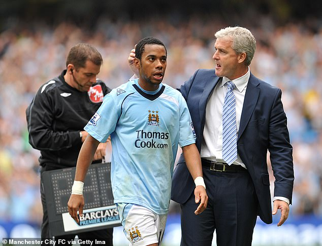However, the incumbent could be a stepping stone, as was the case for Mark Hughes at City