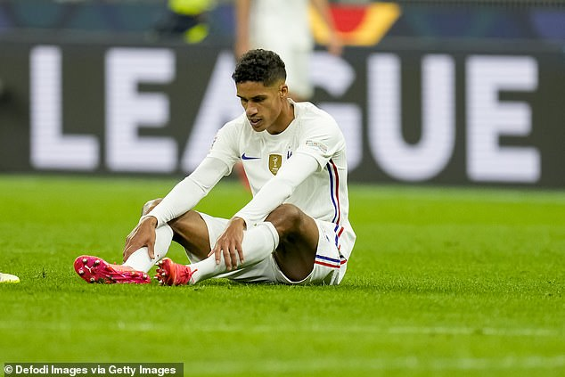 United will have to sweat Rafael Varane's fitness after injury