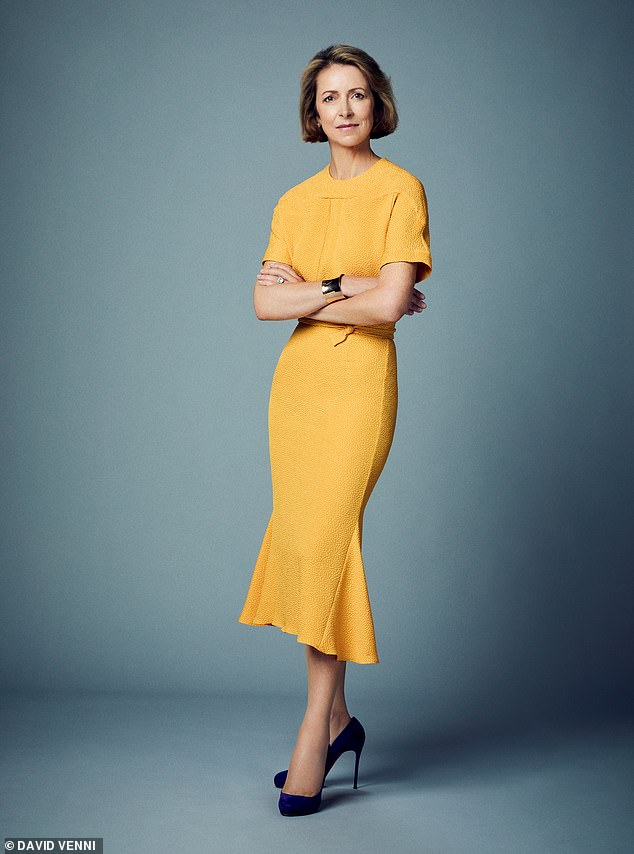 Helena said that it is not in vain to give some thought to one's own style, as others make decisions based on what they see and hear.  Pictured: Adeline Lee Dress, £770
