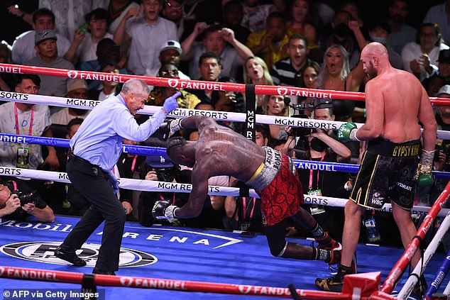 The 33-year-old Gypsy King bulldozers through Deontay Wilder to retain her WBC championship