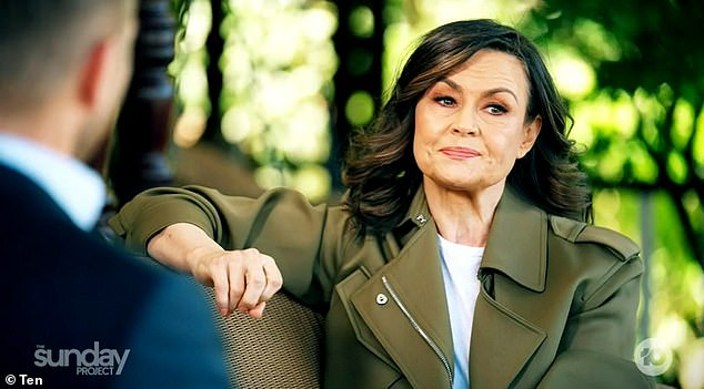 New deal:According to Woman's Day,Karl has re-signed with his old manager Sharon Finnigan, who is said to be in talks to secure him a book deal. Pictured: Lisa Wilkinson