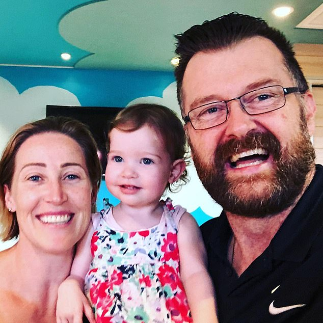 From one challenge to the next! Jana fell pregnant with her husband Paul Gatward, 53, (right) not long after SAS Australia wrapped filming