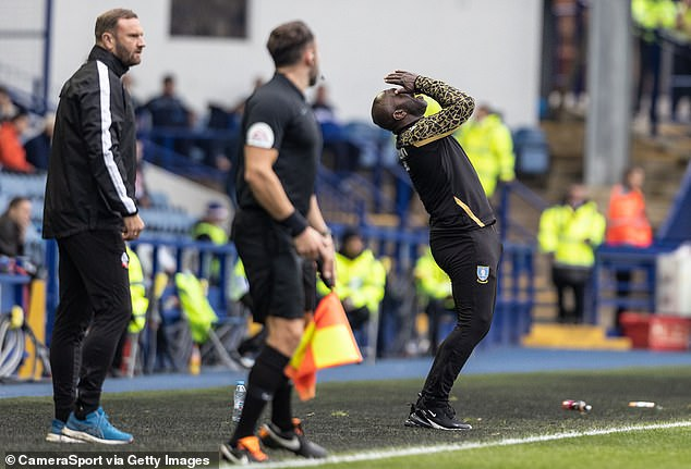 Wednesday manager Darren Moore had not welcomed this fixture with key players missing