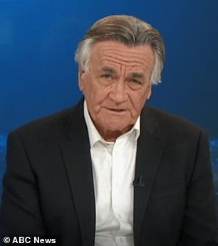The former Insiders host, 71, (pictured) tweeted that the Sunrise co-host, 65, 'obviously has no idea how ICAC works'