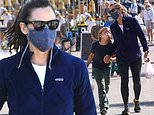 Jennifer Garner shares several adorable moments with son Samuel during trip to farmers market