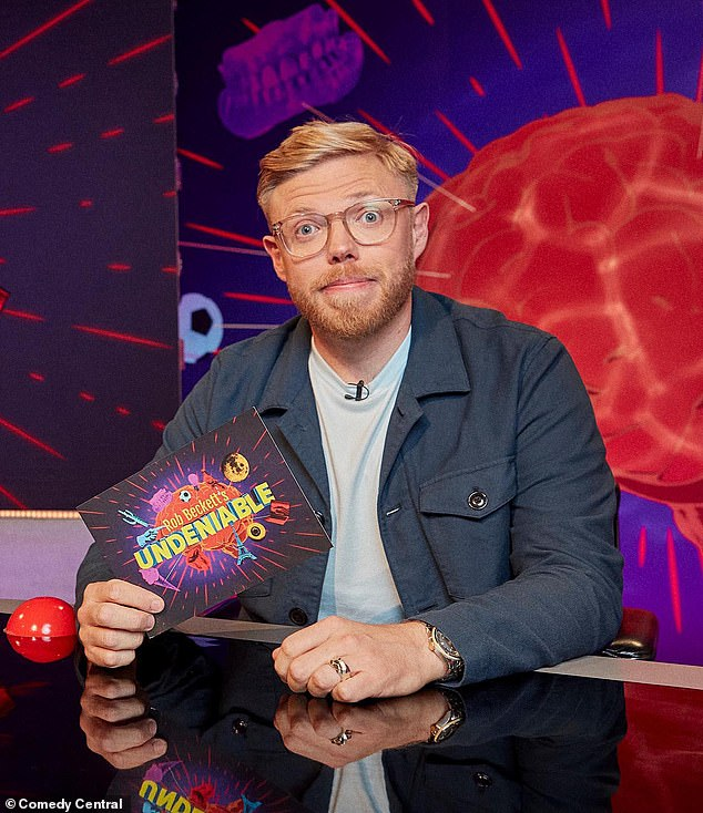 Revelation: Comedian Rob Beckett reveals he struggled with suicidal thoughts