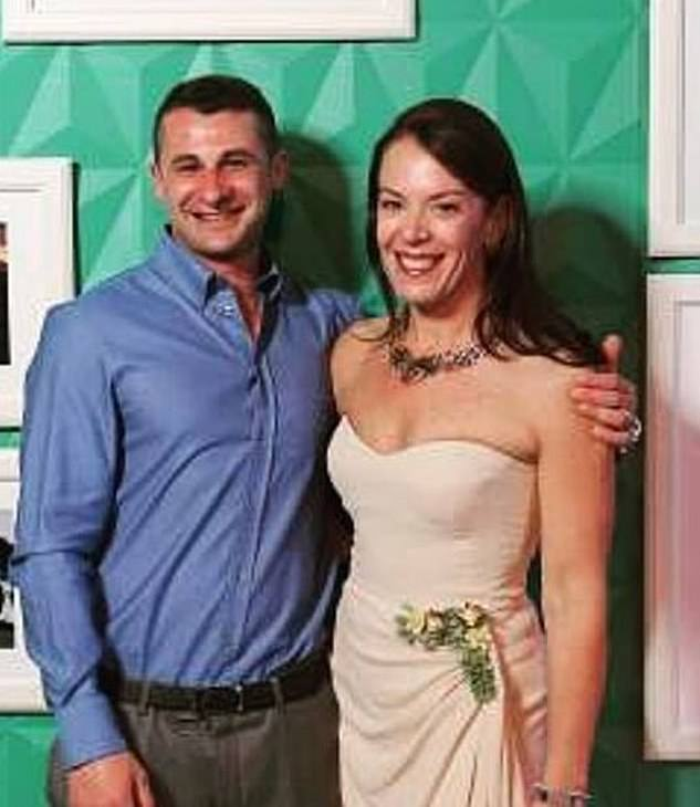 The pair met a decade ago when Mr Koletti was working as a hairdresser on a cruise ship