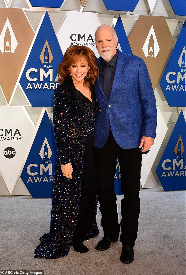 Reba and Rex:She also spoke about her boyfriend Rex Linn, joking, 'I'm Tater Tot, he's Sugar Tots — we're the Tots'