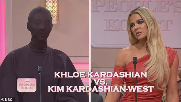 Costars: Khloe and Kris made cameos on Saturday Night Live as Kim led the show in a massively successful episode