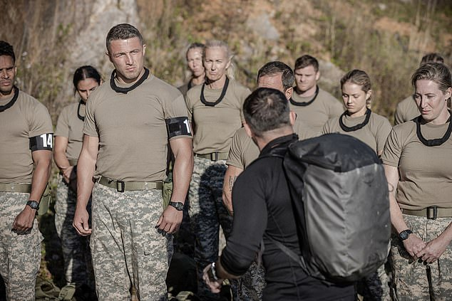 Pick a winner: Unlike Season One where several recruits passed SAS section, this time there is only one recruit left standing at the end of the show - and it's no surprise who