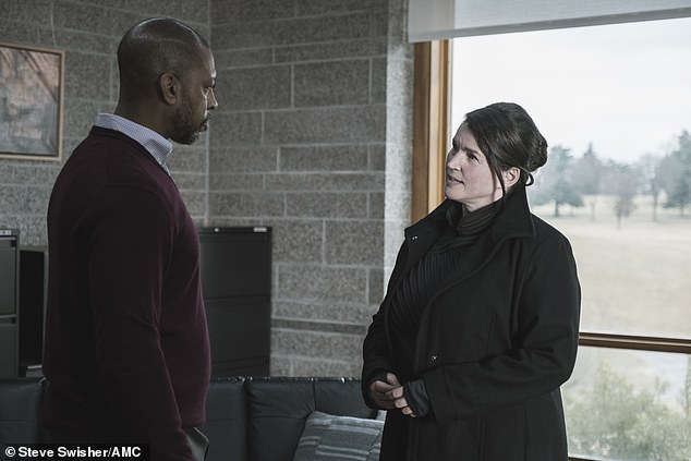 Left already:Leo asked to join the team to bring them back, but Elizabeth told him that wouldn't be possible because the extraction team already left