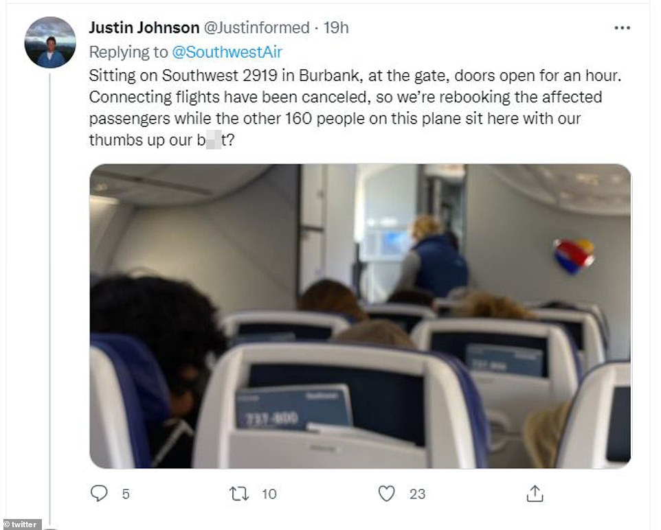 , Ted Cruz blames 'illegal vaccine mandate' after Southwest cancelled 2,000 flights over the weekend, The Evepost National News