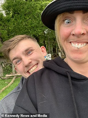 The part-time fitness instructor claimed they've had a 'brilliant' response from friends and family but it's comments from people she doesn't know on social media that have been 'detrimental' to her self-esteem