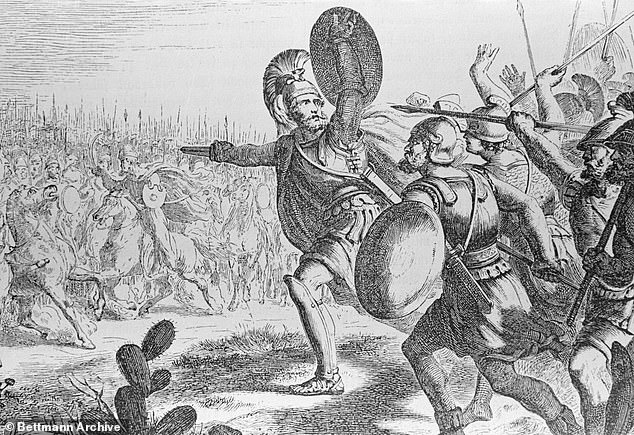 He claimed the Spartans are, in reality, famous for an 'embarrassing' and 'disastrous defeat', describing the battle as a 'military disaster' which was spun into the legend of self-sacrifice