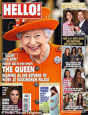 Read all about it: Katherine reveals her pregnancy via Hello!  magazine