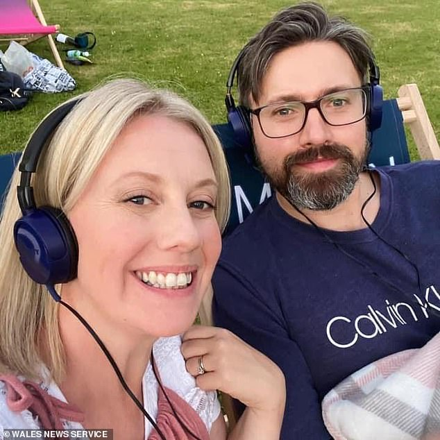 Kelly Pendry, 41, along with her husband Michael were given the devastating news that they had developed a rare form of cancer in their womb after an operation that may have caught a tumor was canceled during the COVID lockdown Was.