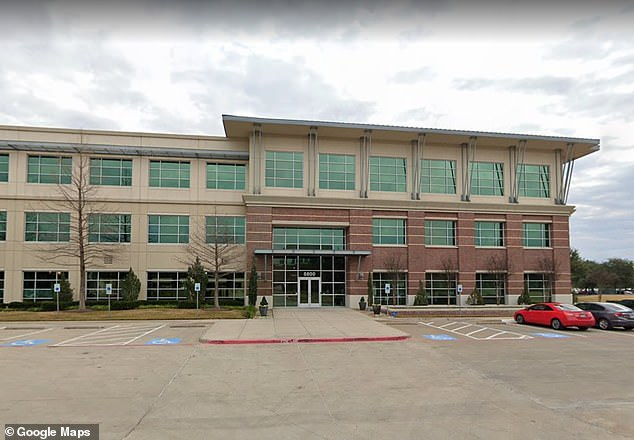 Most of the company's 750 corporate workers work at the Dallas, Texas office, above