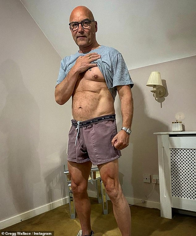 Washboard abs: Celebrity chefs boast a serious set of washboard abs