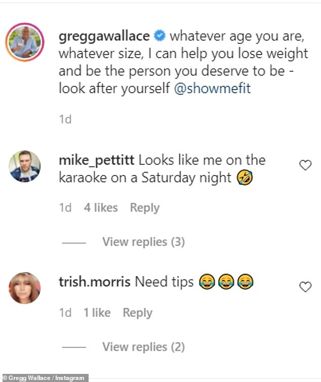 Inspiration: Fans took to her Instagram page to ask for tips and offer support on her weight loss journey
