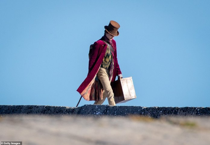 Stride: It is a busy time for the Dune actor as he films his latest starring role