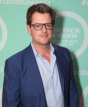William Sitwell at the fifth annual Fortnum & Mason Food and Drink Awards on May 11, 2017 in London