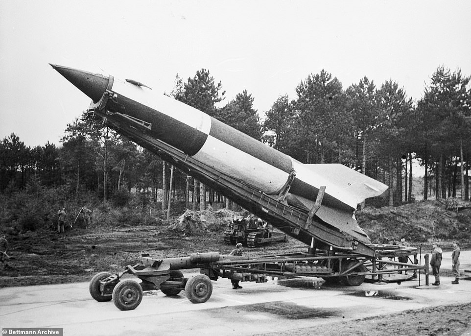 , Archaeologists discover remains of Nazi V2 rocket that can travel faster than the speed of sound, The Today News USA