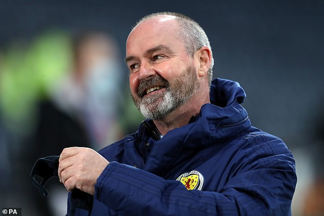 Steve Clarke says his Scotland side felt the love from fans inside the stadium on Saturday