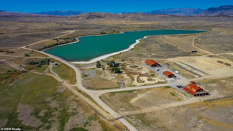 On the move:Kanye West lists sprawling Wyoming ranch for $11million.... $3m LESS than original asking price of the home that was blamed as a breaking point in his marriage to Kim Kardashian
