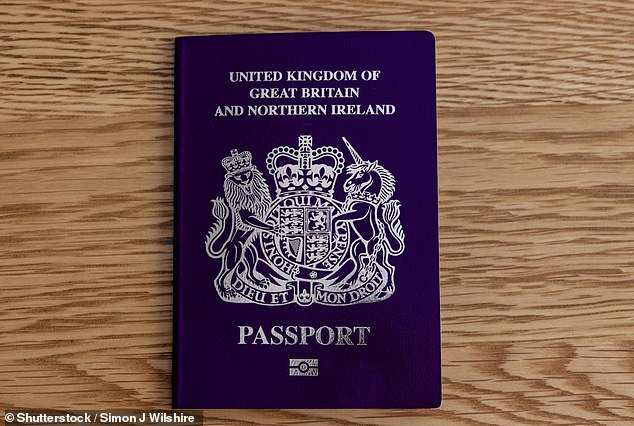 Ten people accused of supplying fraudulent passports to Britains most notorious criminals were arrested by police today after an investigation by theNational Crime Agency. (Stock image)