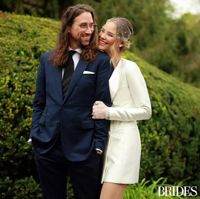Owens and King tied the knot during the small ceremony at Kennett Square Golf and Country Club in Pennsylvania in front of a small group of family and friends