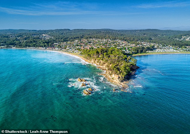 The airline will have a focus on regional communities with new domestic routes in the works (pictured, Bateman's Bay on the NSW South Coast)